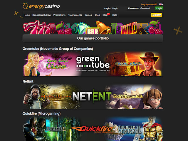 EnergyCasino screenshot 2