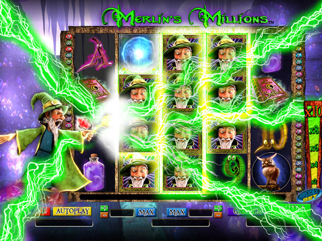 Video Slot Merlin's Millions