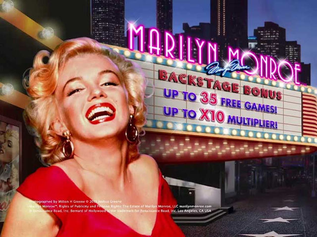 Video Slot Marilyn Monroe