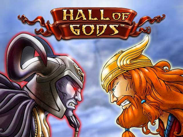 Spielautomat mit Mythologie Hall of Gods